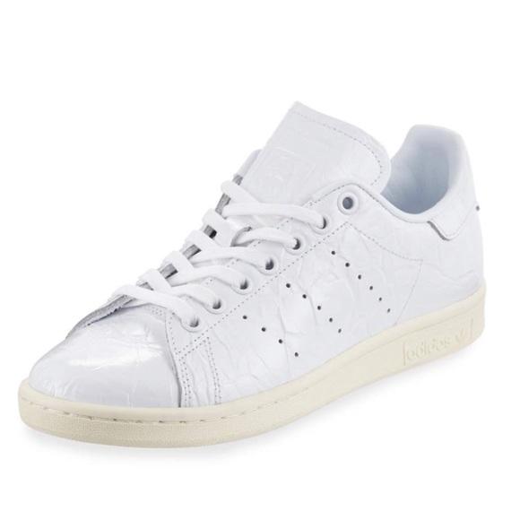 llenar pausa sociedad  adidas Shoes | Nwot Adidas Patent Leather Stan Smith Sneaker | Poshmark